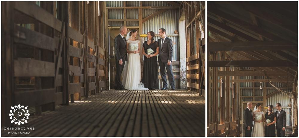 DIY barn wedding Auckland