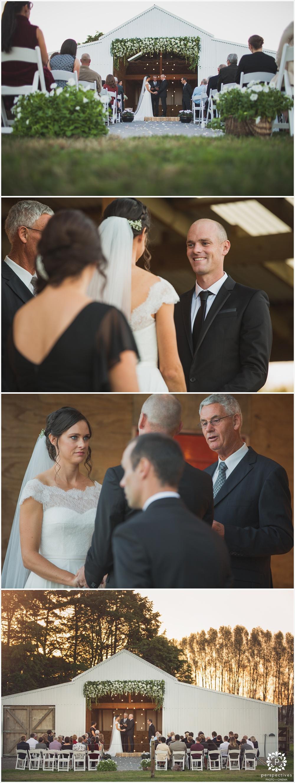Auckland barn wedding