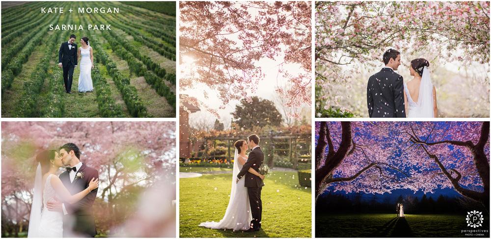 Sarnia Park wedding