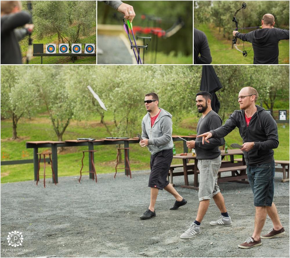 Bracu shooting archery wedding