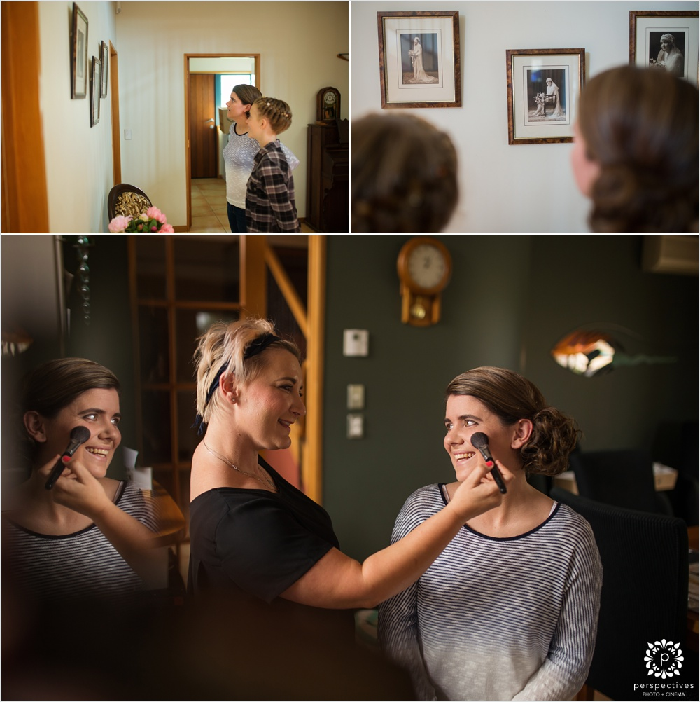 Auckland wedding makeup