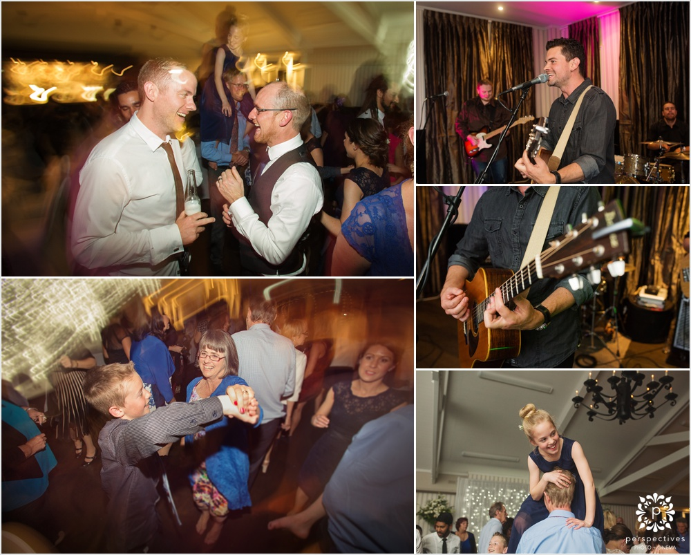 Blue Steel band Auckland wedding