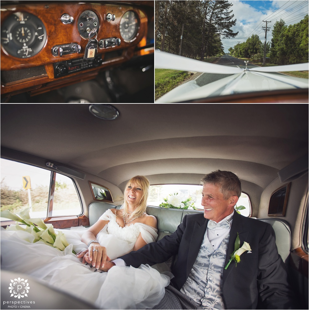 Rolls Royce hire wedding Auckland