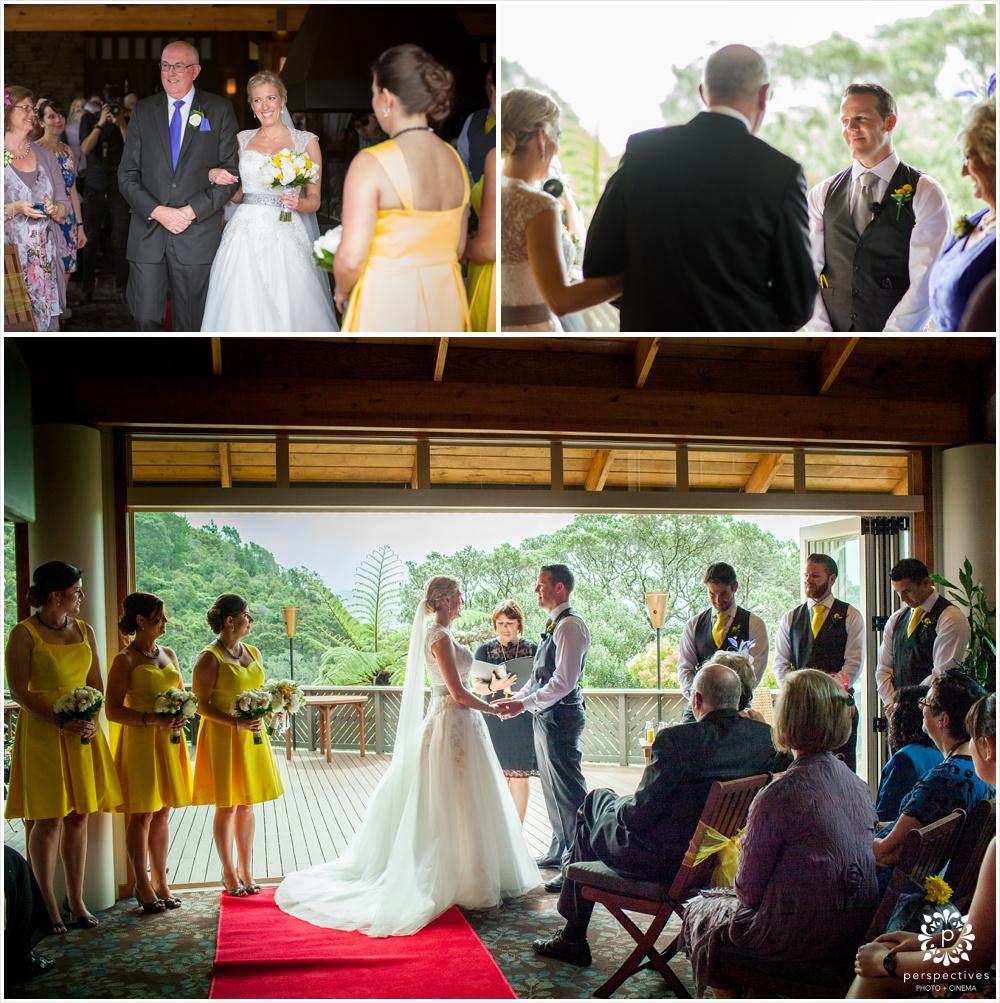 Puka Park Pauanui wedding photos