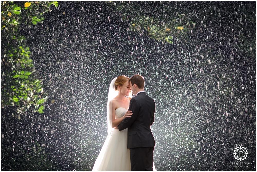rain wedding photos new zealand
