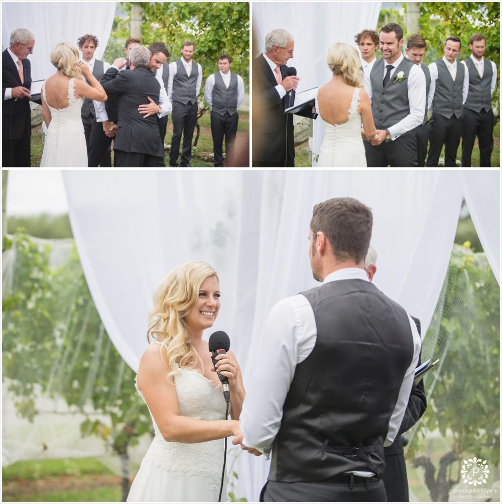 Ascension wine estate wedding photos