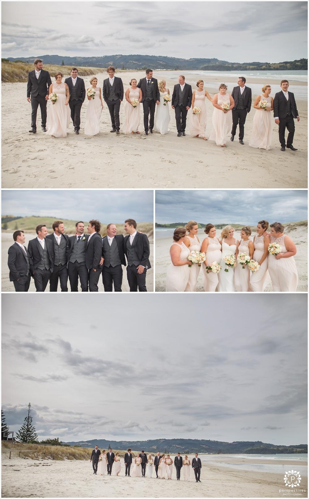 omaha beach wedding photos