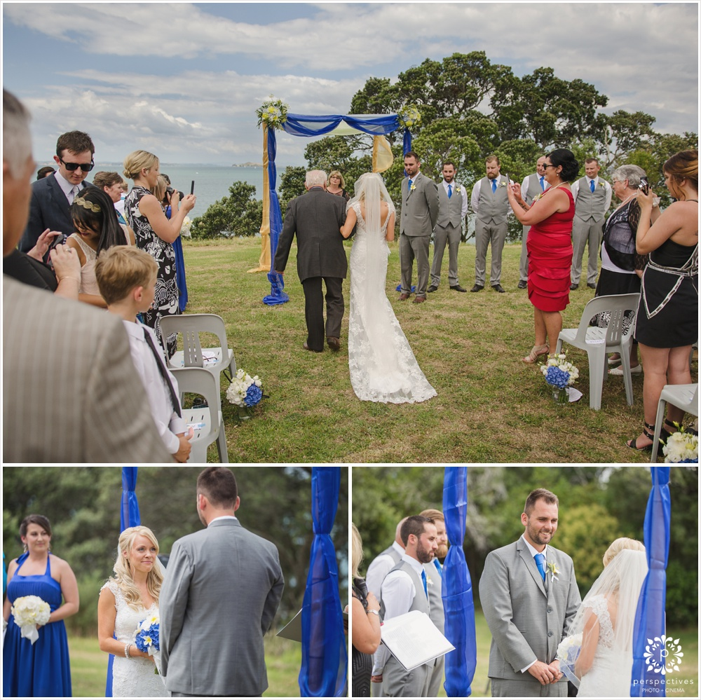 Fort Takapuna wedding photos