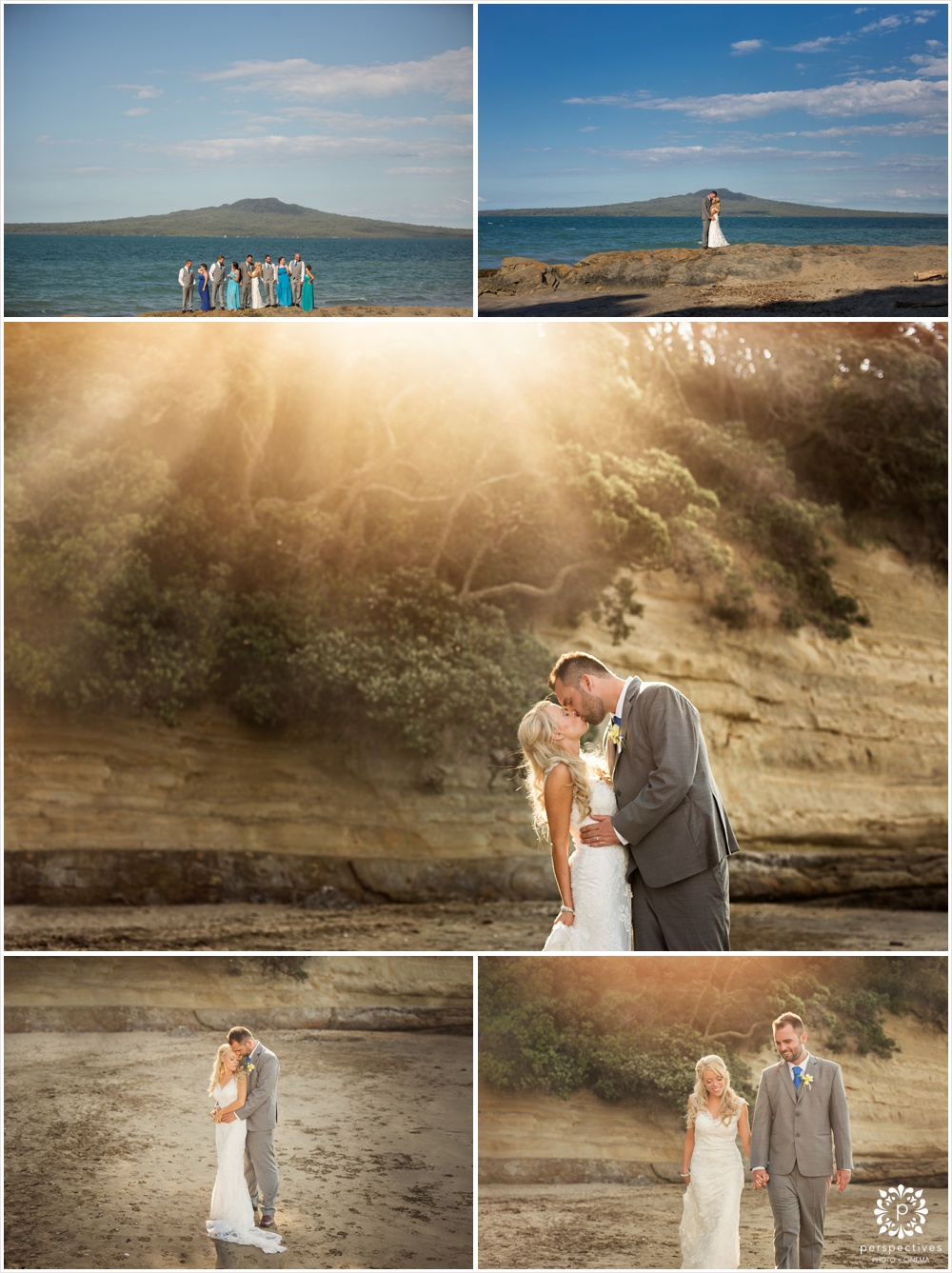 devonport beach wedding