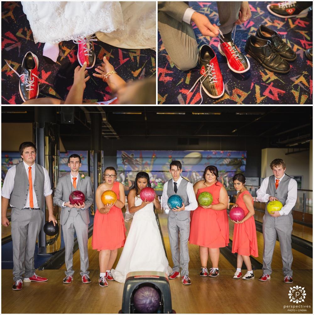 wedding bowling
