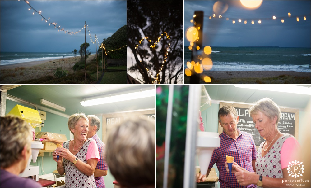 Papamoa beach wedding