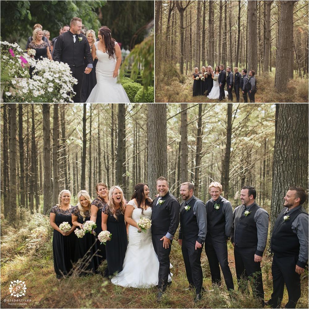 forest wedding photo location Auckland