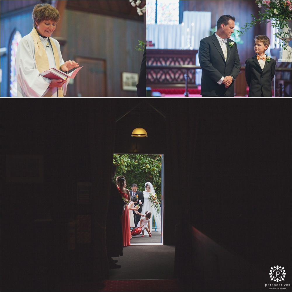 St Marks Remuera wedding photos