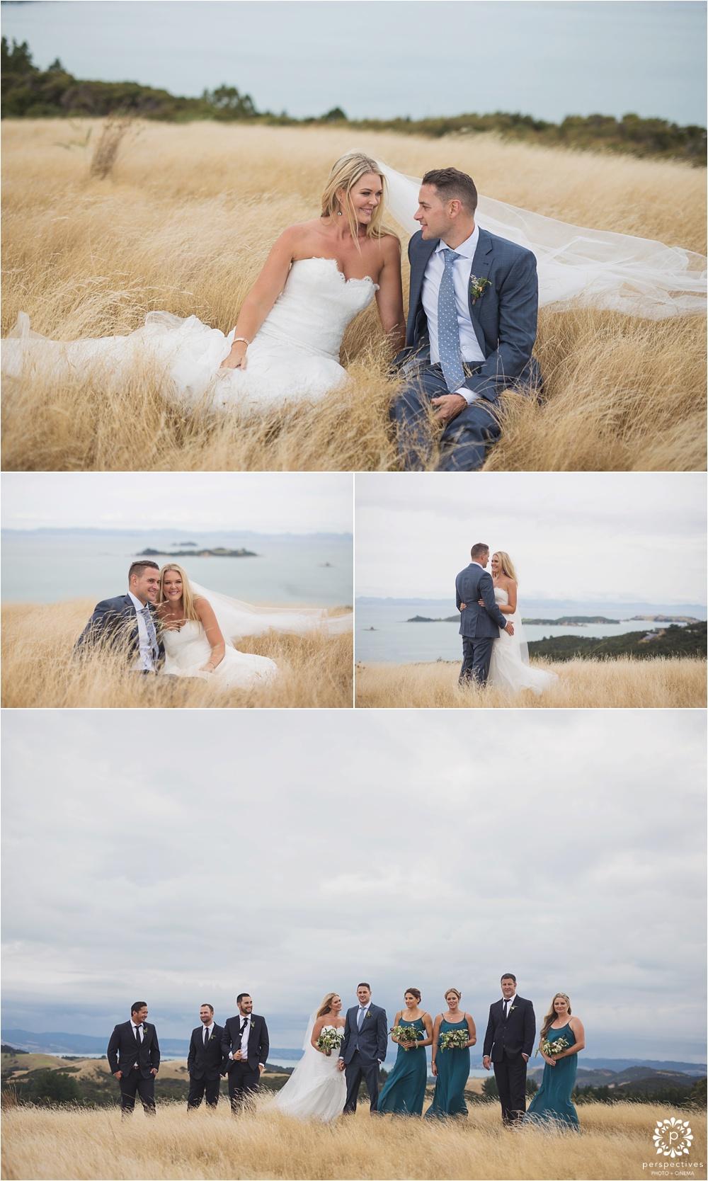 Waikopou Waiheke wedding photos