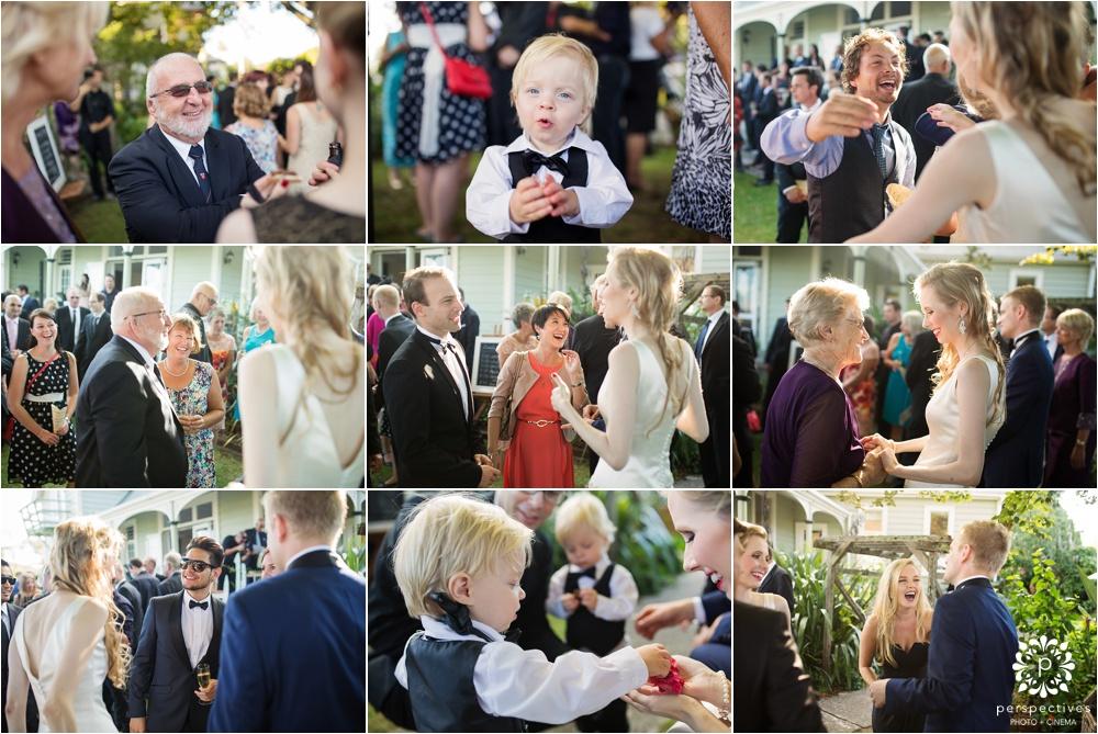 elegant cocktail wedding