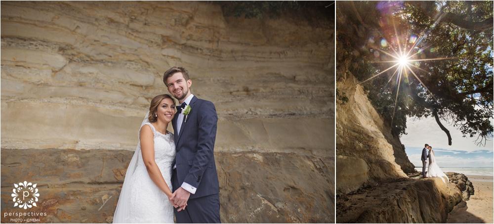North shore beach wedding photos
