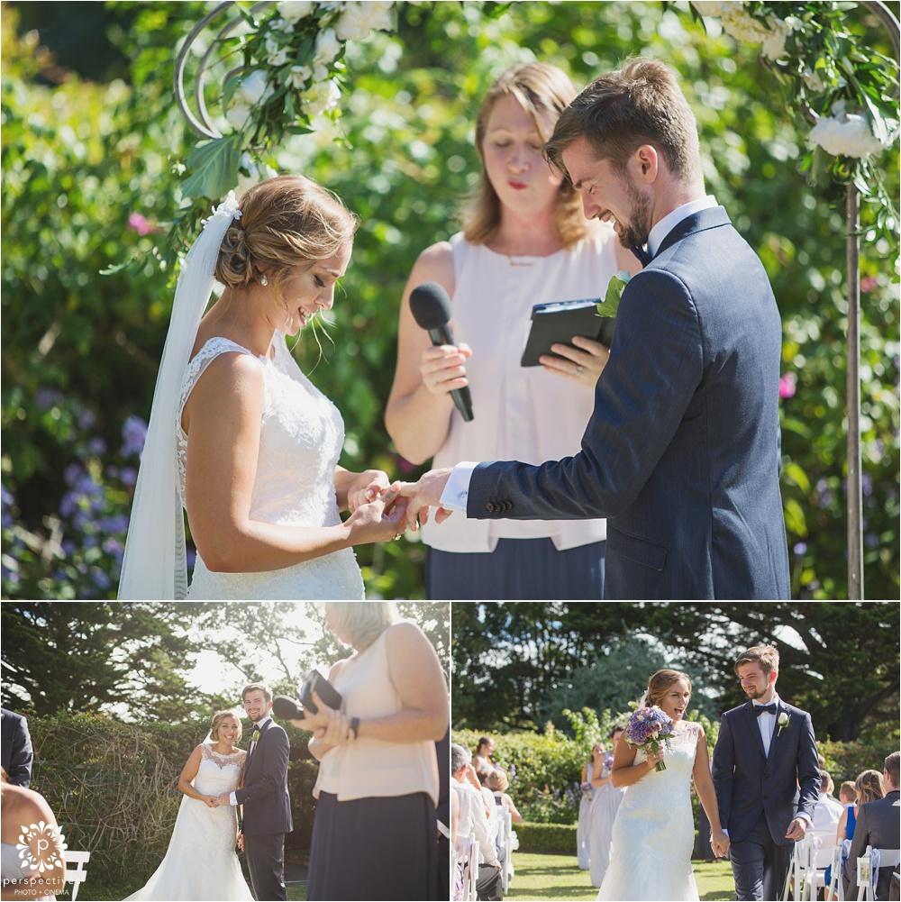 Wilson Home gardens wedding