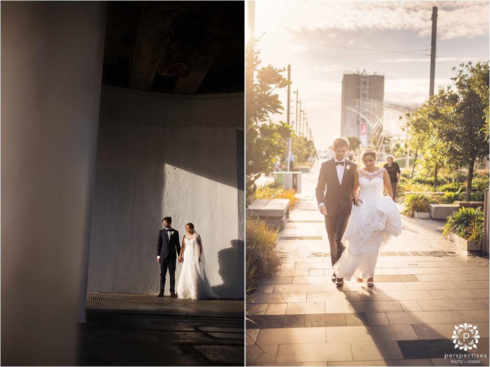 Wynyard Quarter Auckland wedding photos