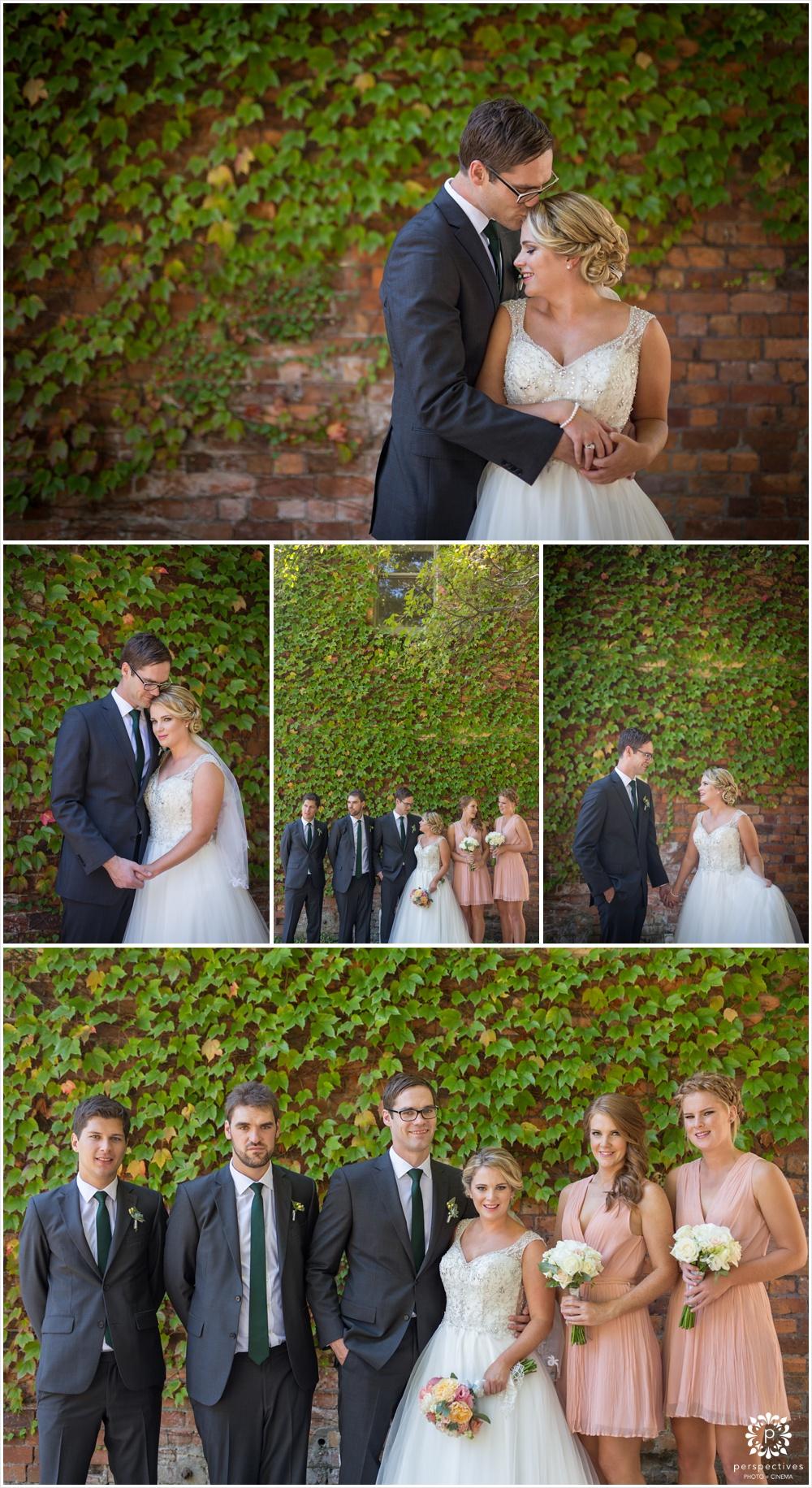 Albert Park wedding photos auckland