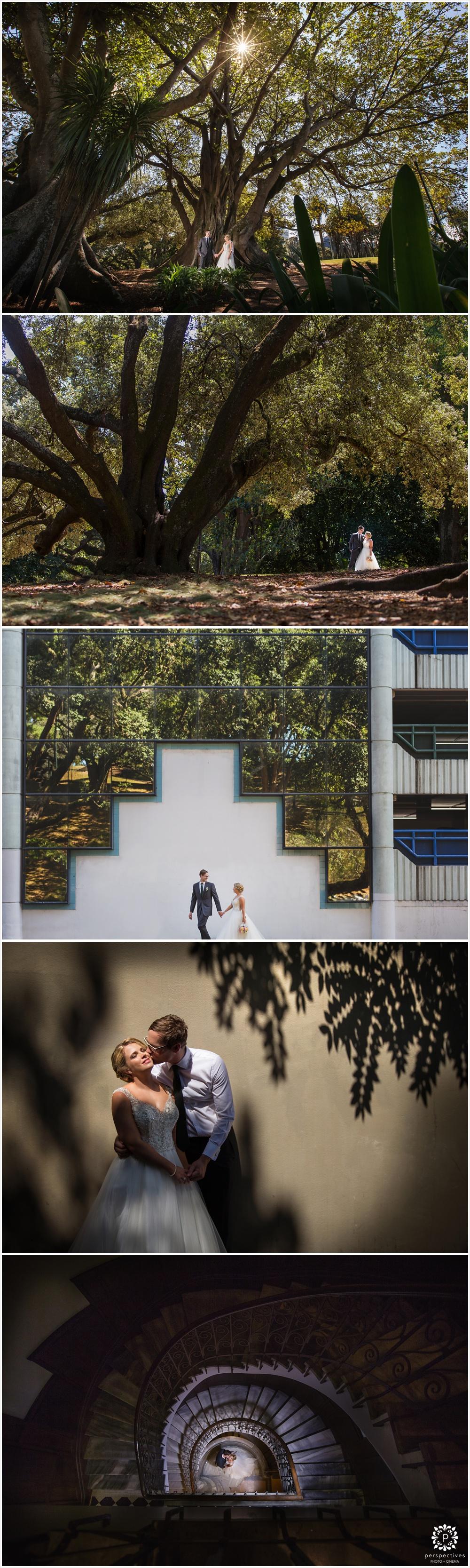 Urban wedding photos auckland