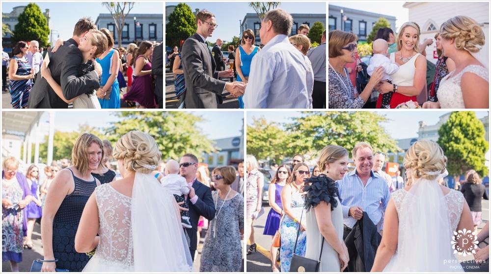 St John's Parnell wedding