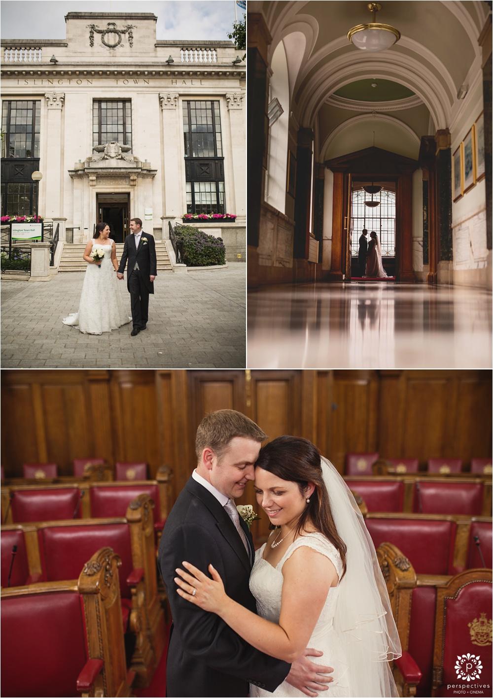 Destination wedding photos London