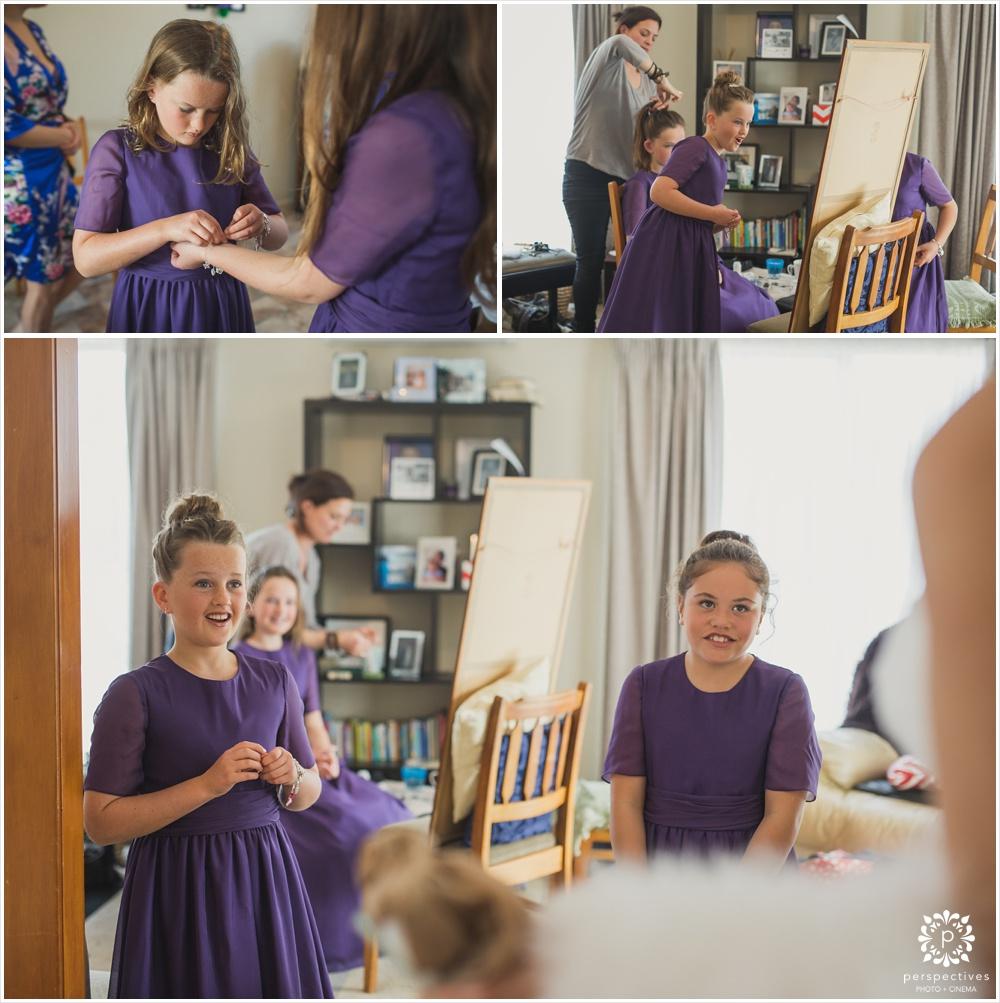 flowergirl wedding photos