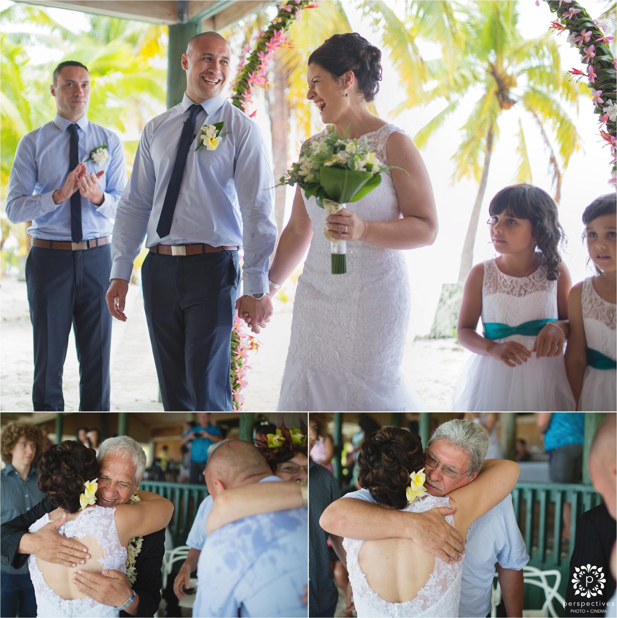 Aitutaki Rarotonga wedding photos