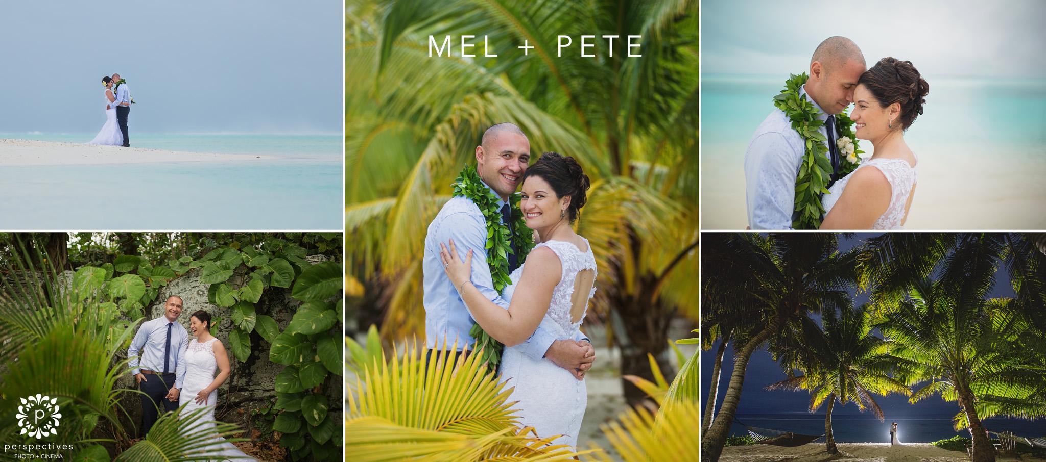 Aitutaki wedding photos