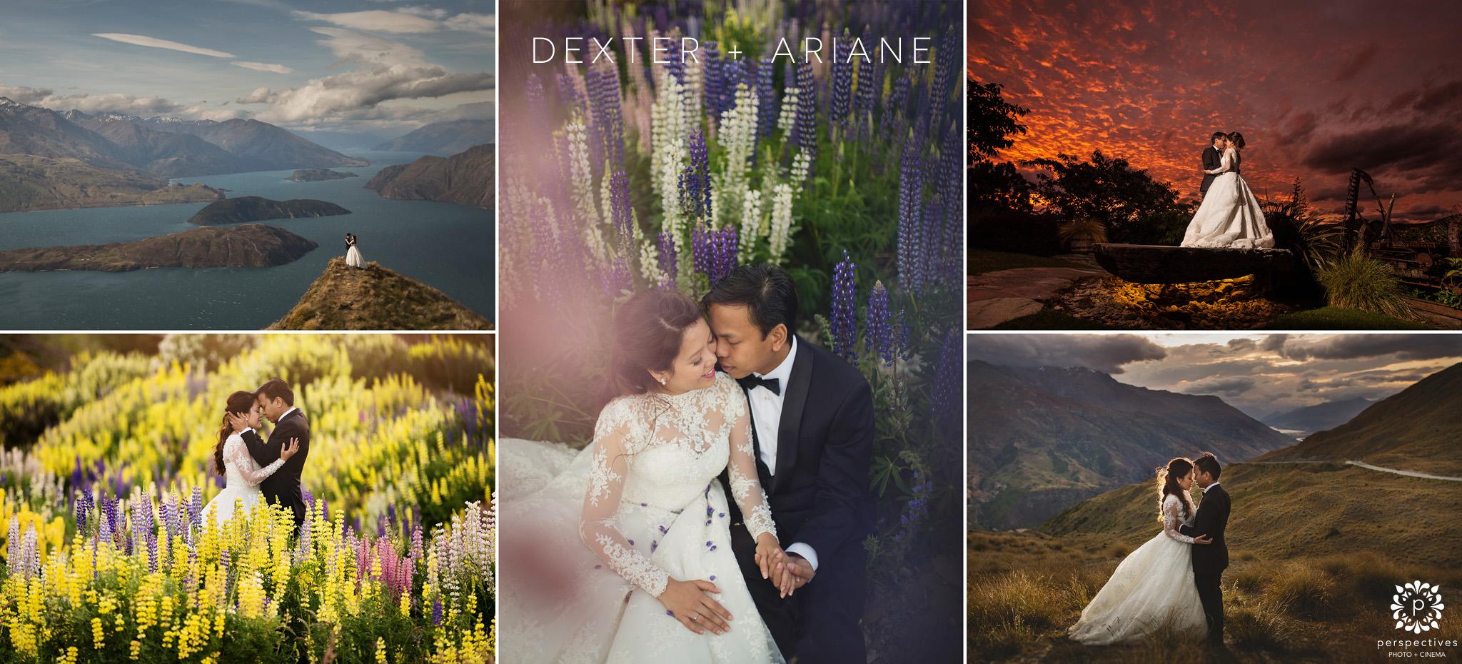 Stoneridge Queenstown wedding photos