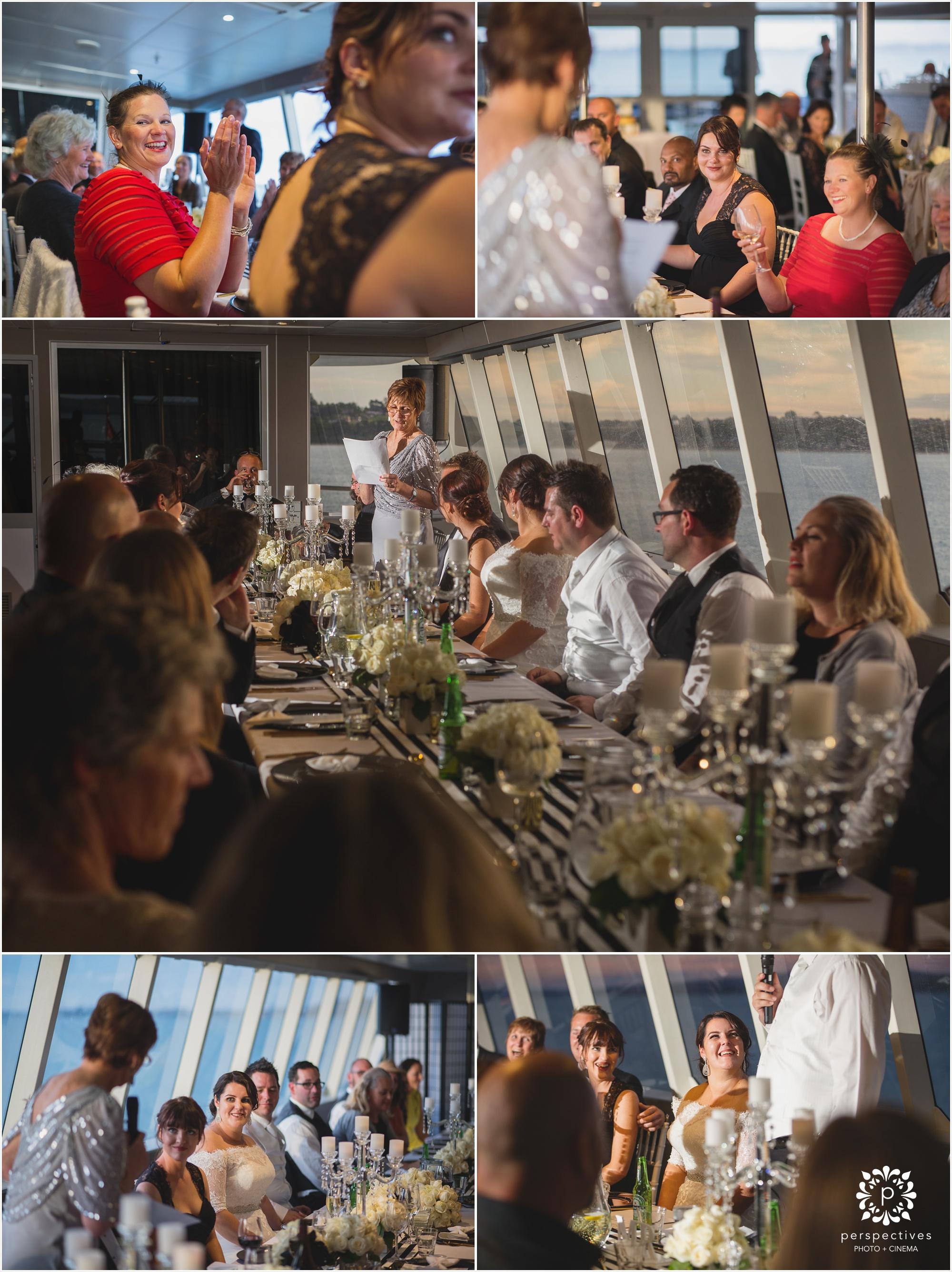 Auckland boat wedding venue