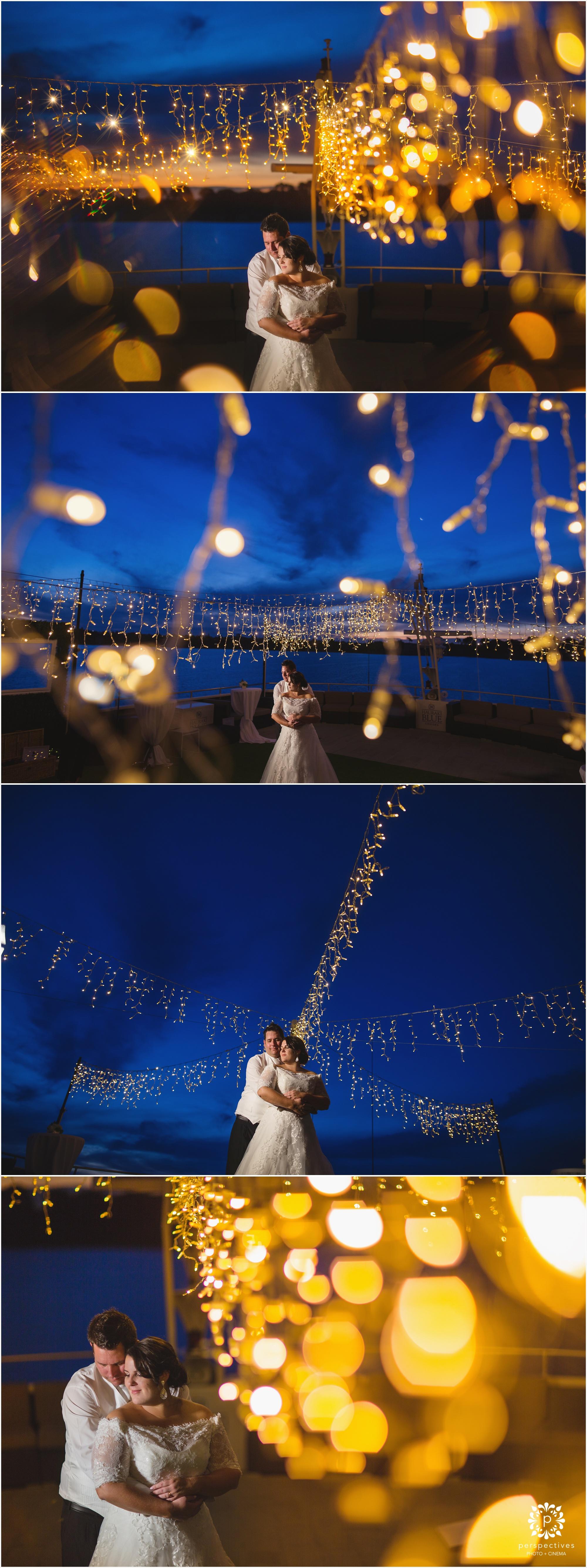 Hauraki Blue wedding