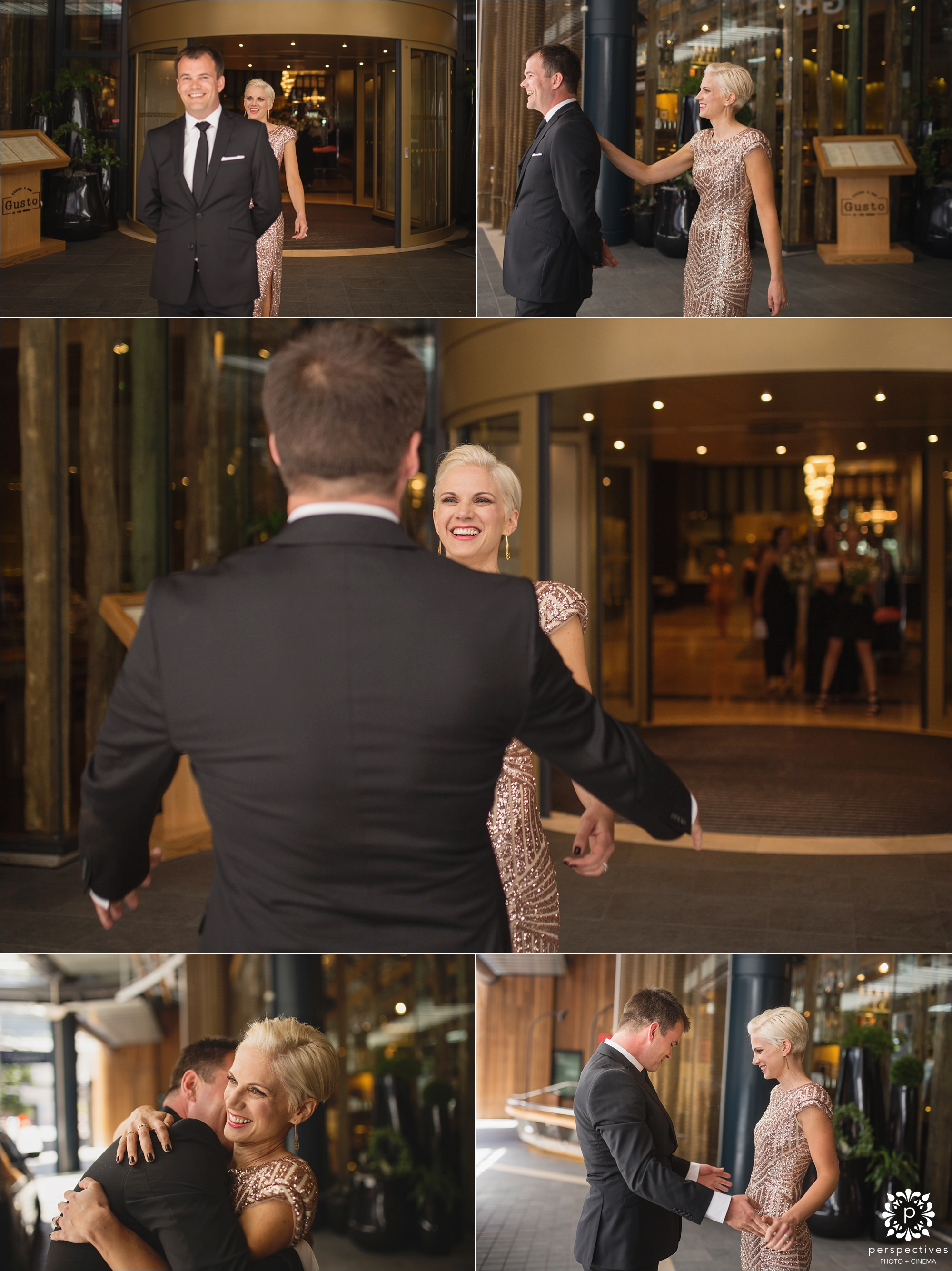 Skycity Grand hotel wedding photos