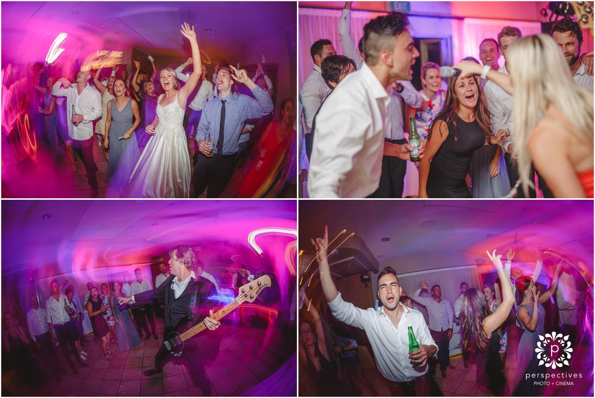 the monroes wedding band