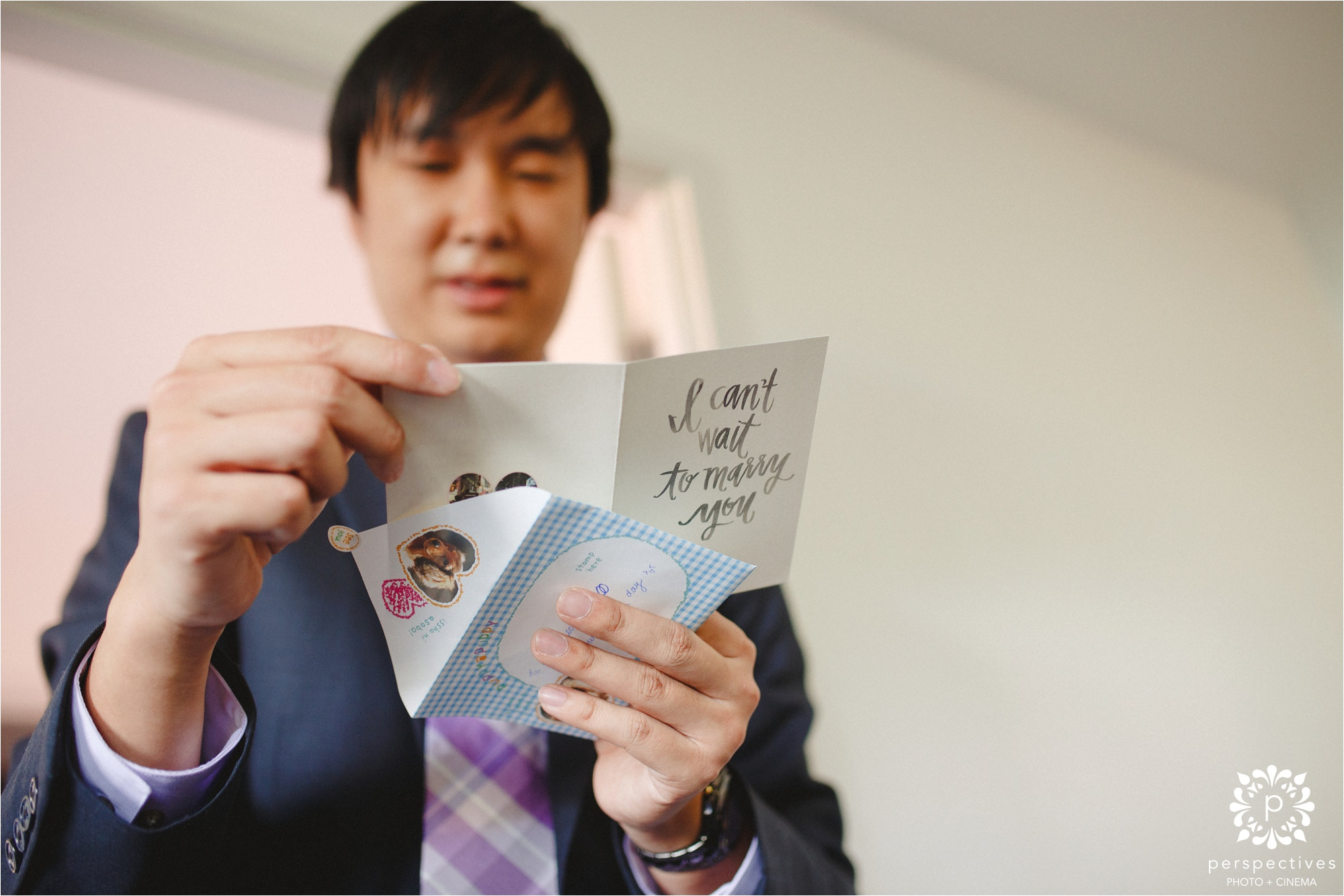 groom wedding day card