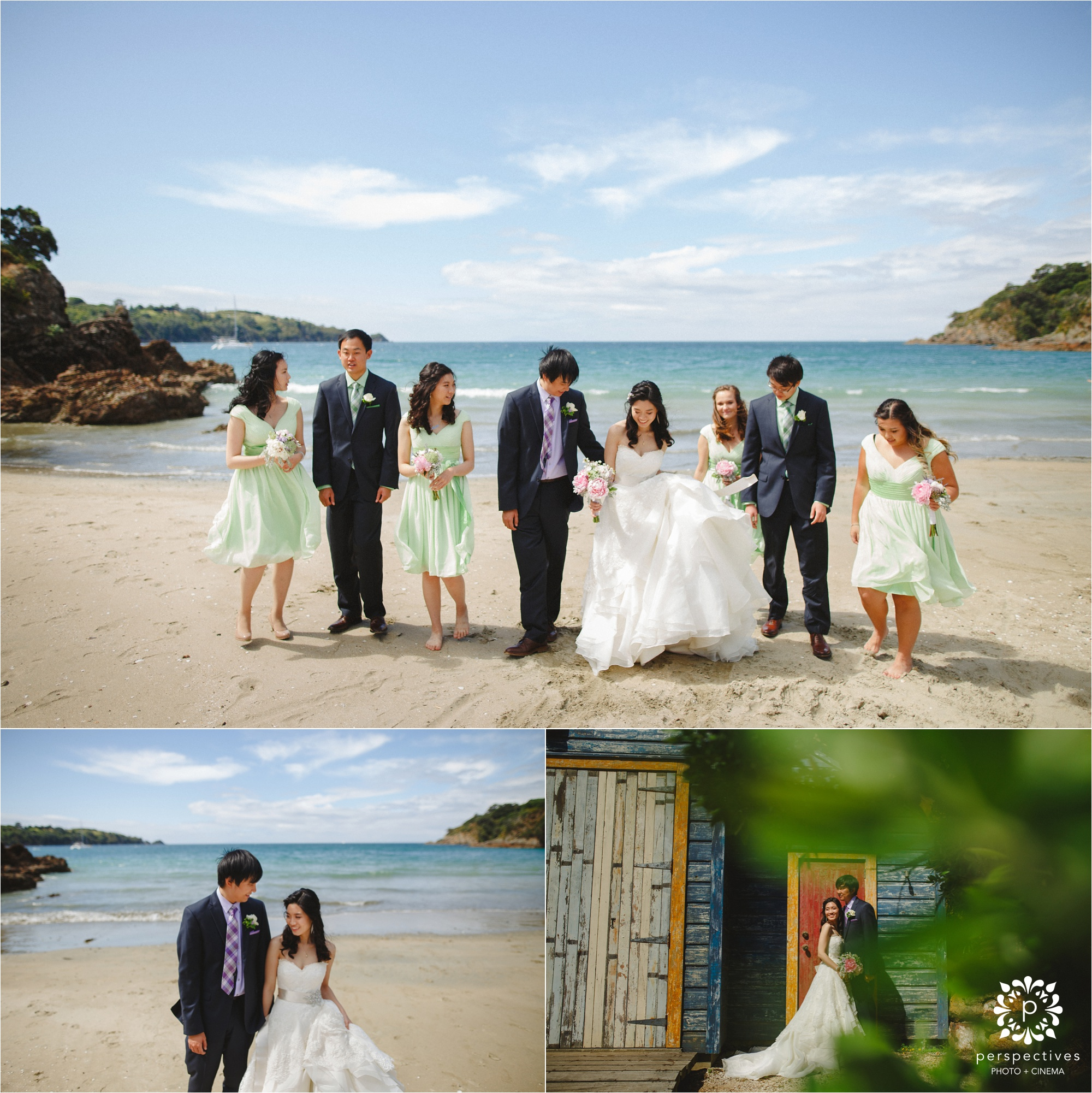 waiheke wedding photos