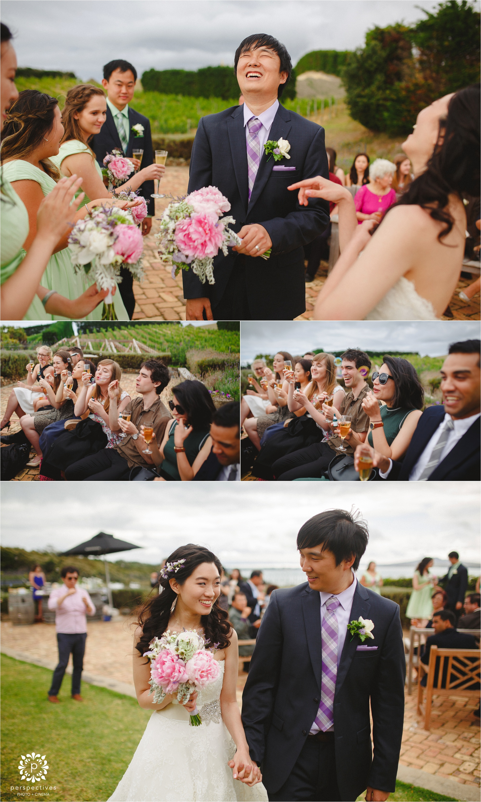 Mudbrick wedding photos ceremony
