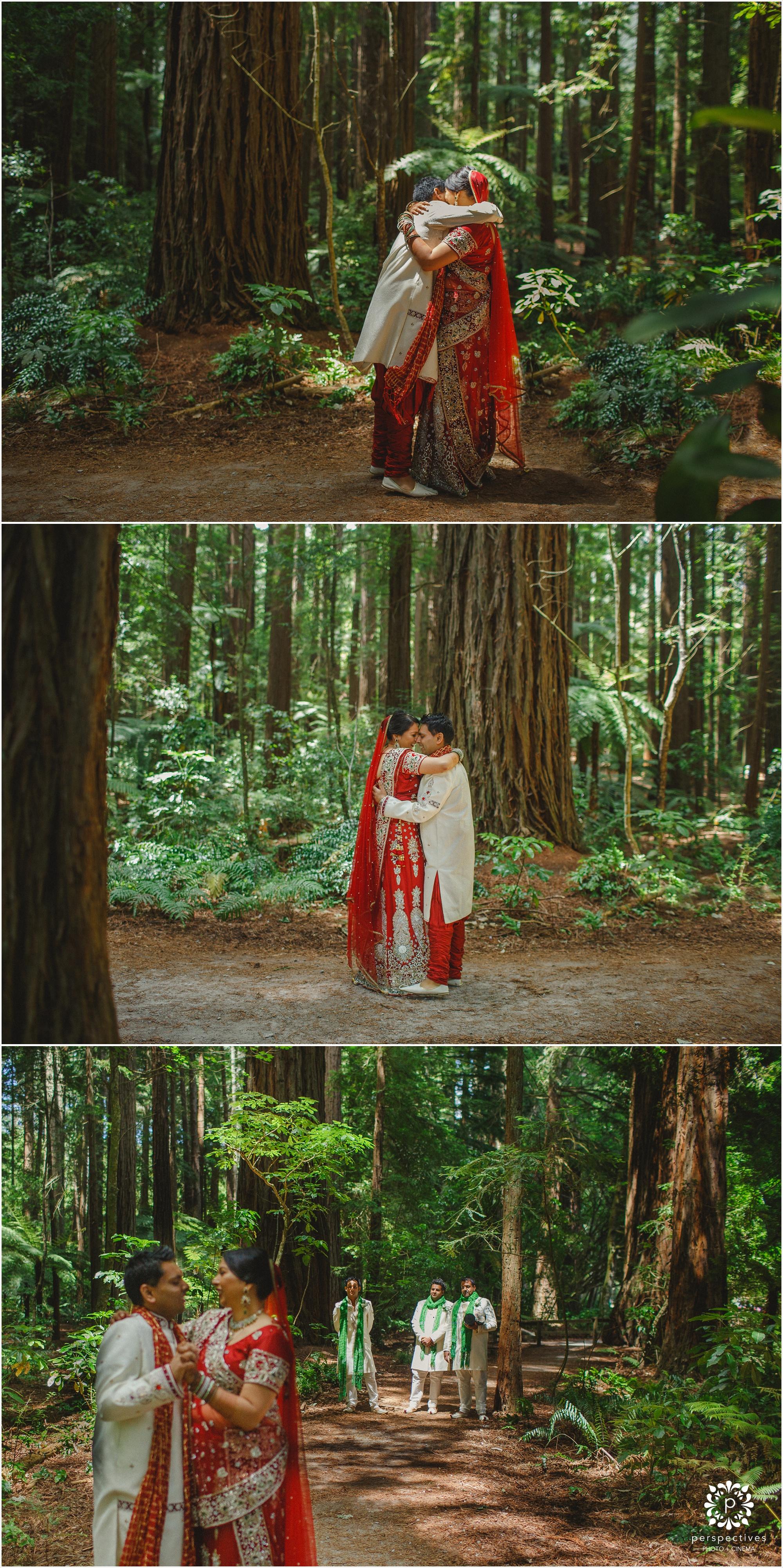 redwoods rotorua wedding photos