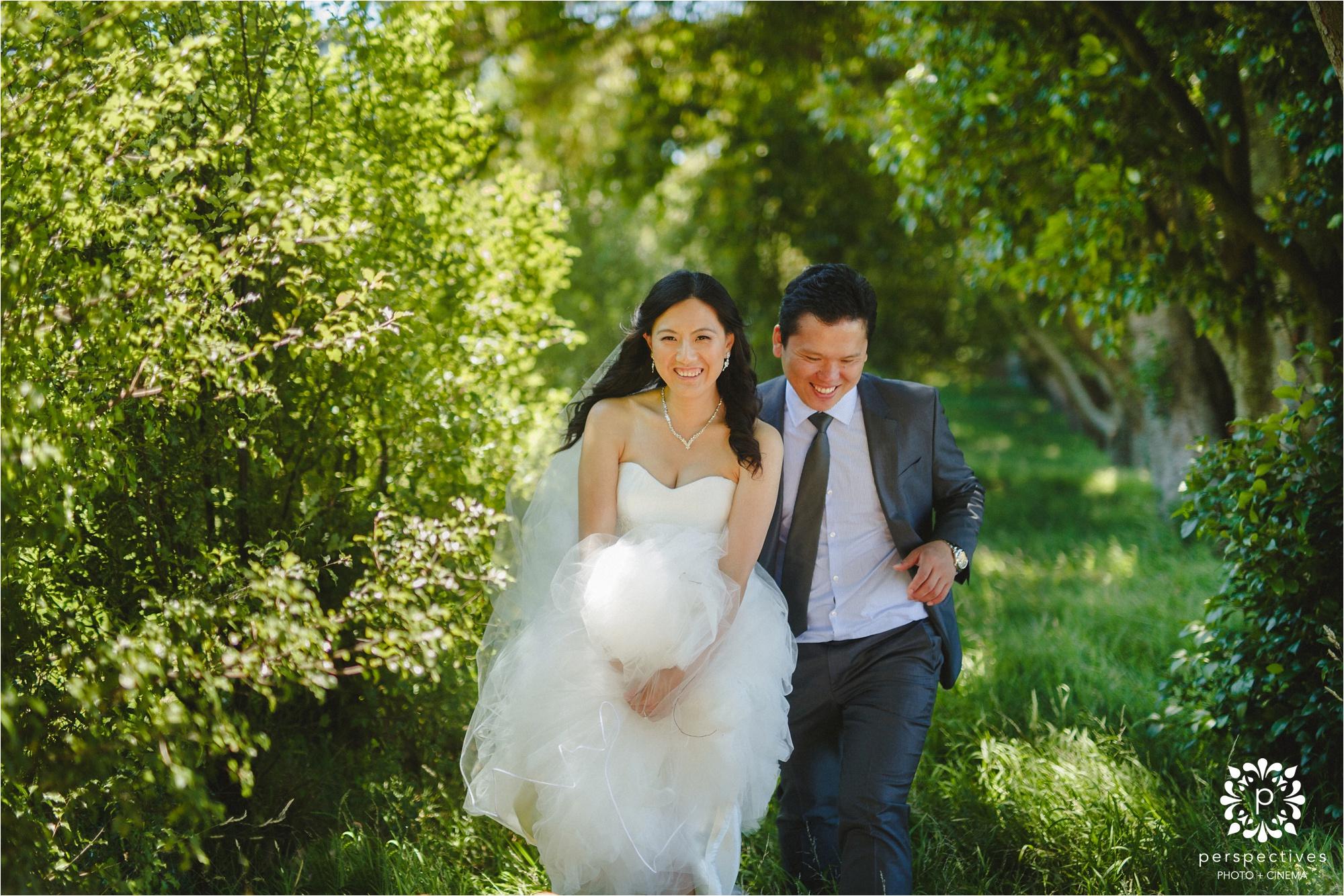 cornwall park wedding photos