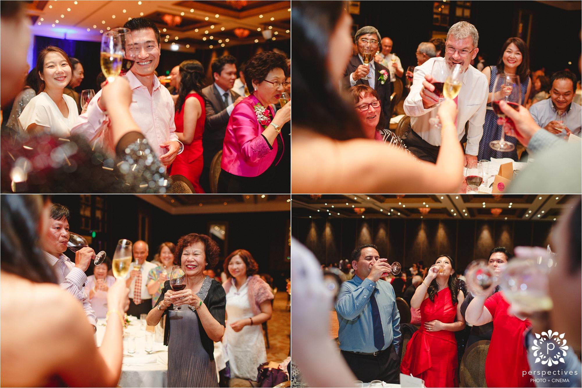 the langham wedding photos