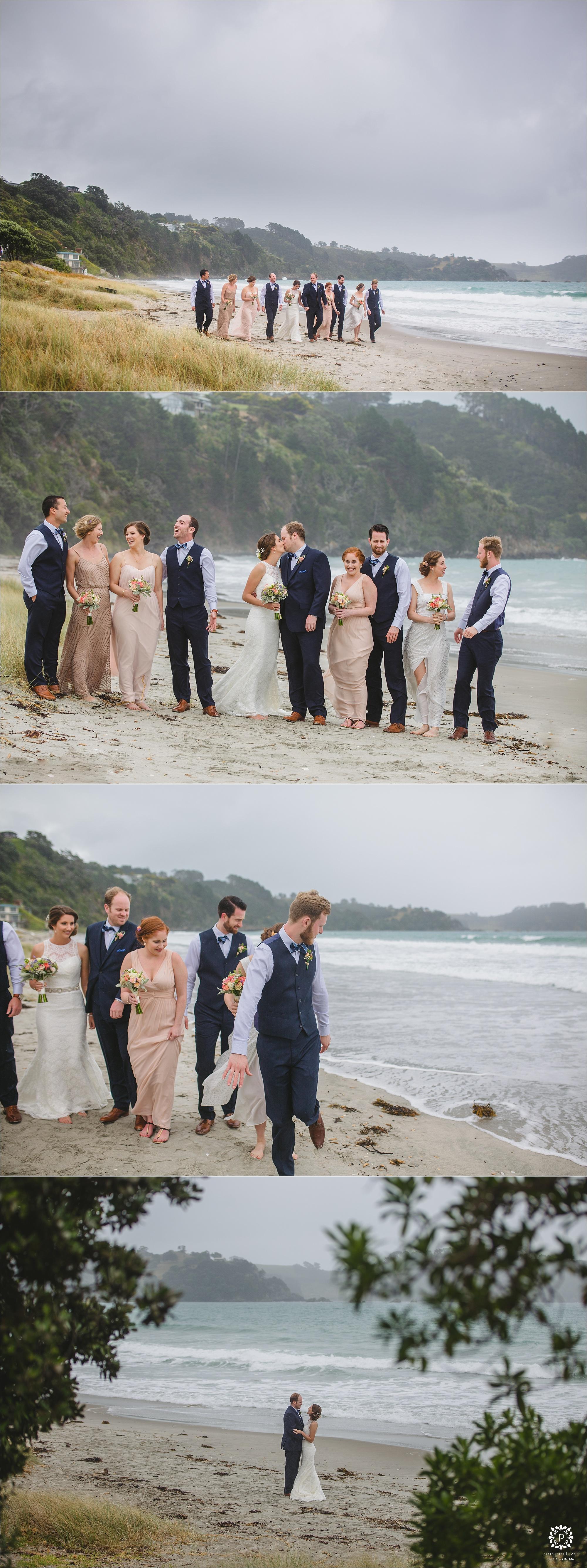 Onetangi wedding photos waiheke
