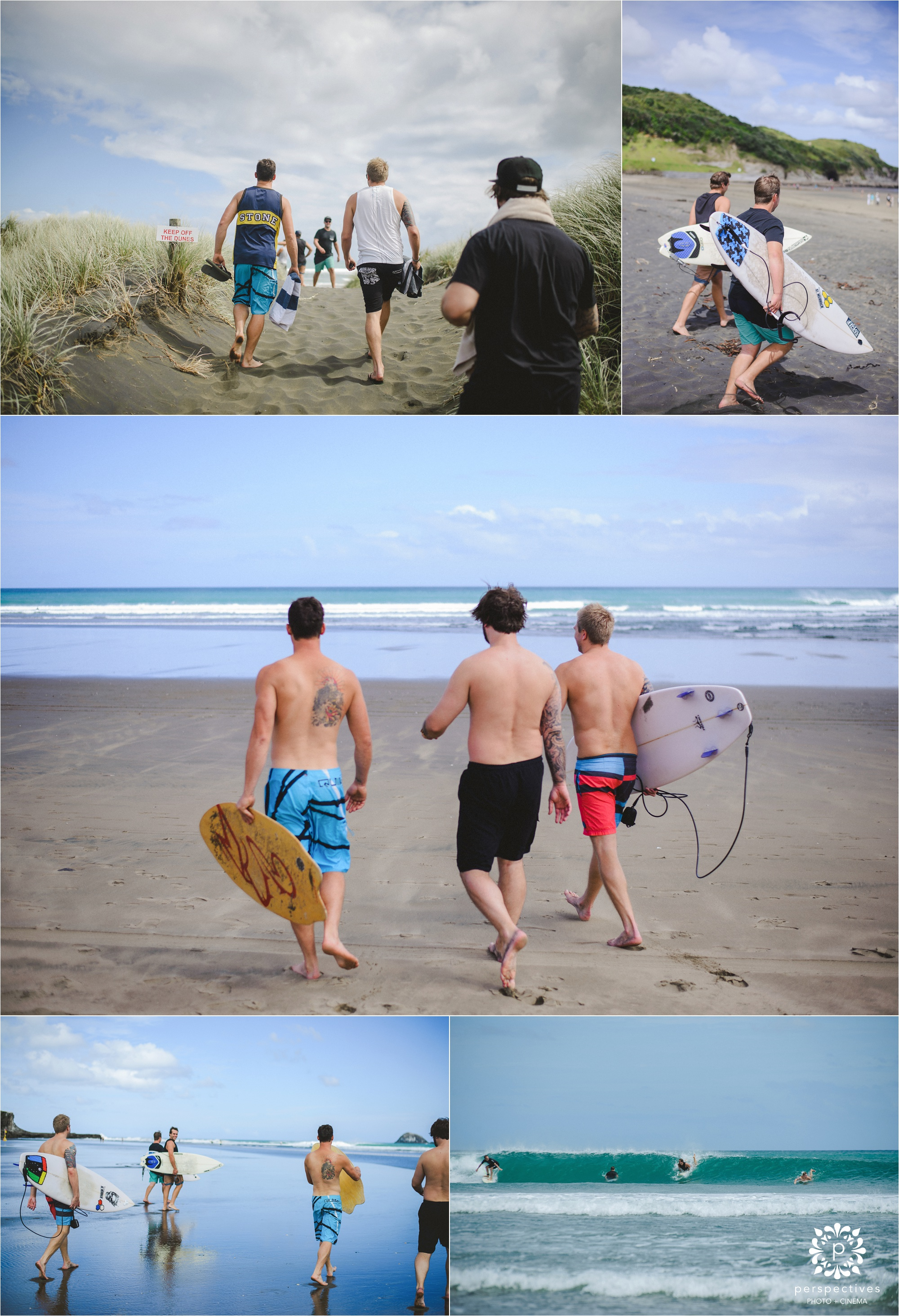 muriwai beach wedding