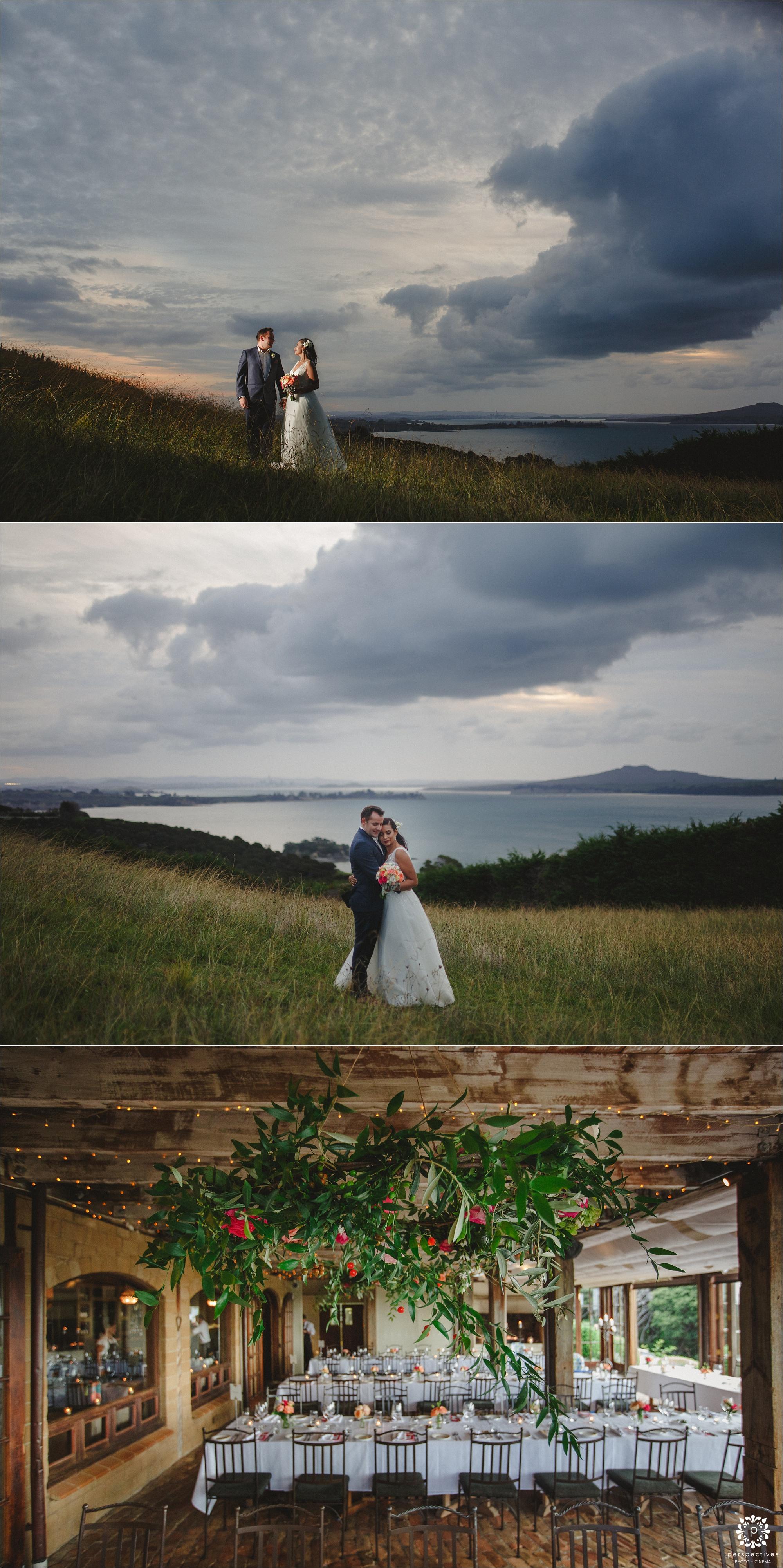 Mudbrick Waiheke wedding photos