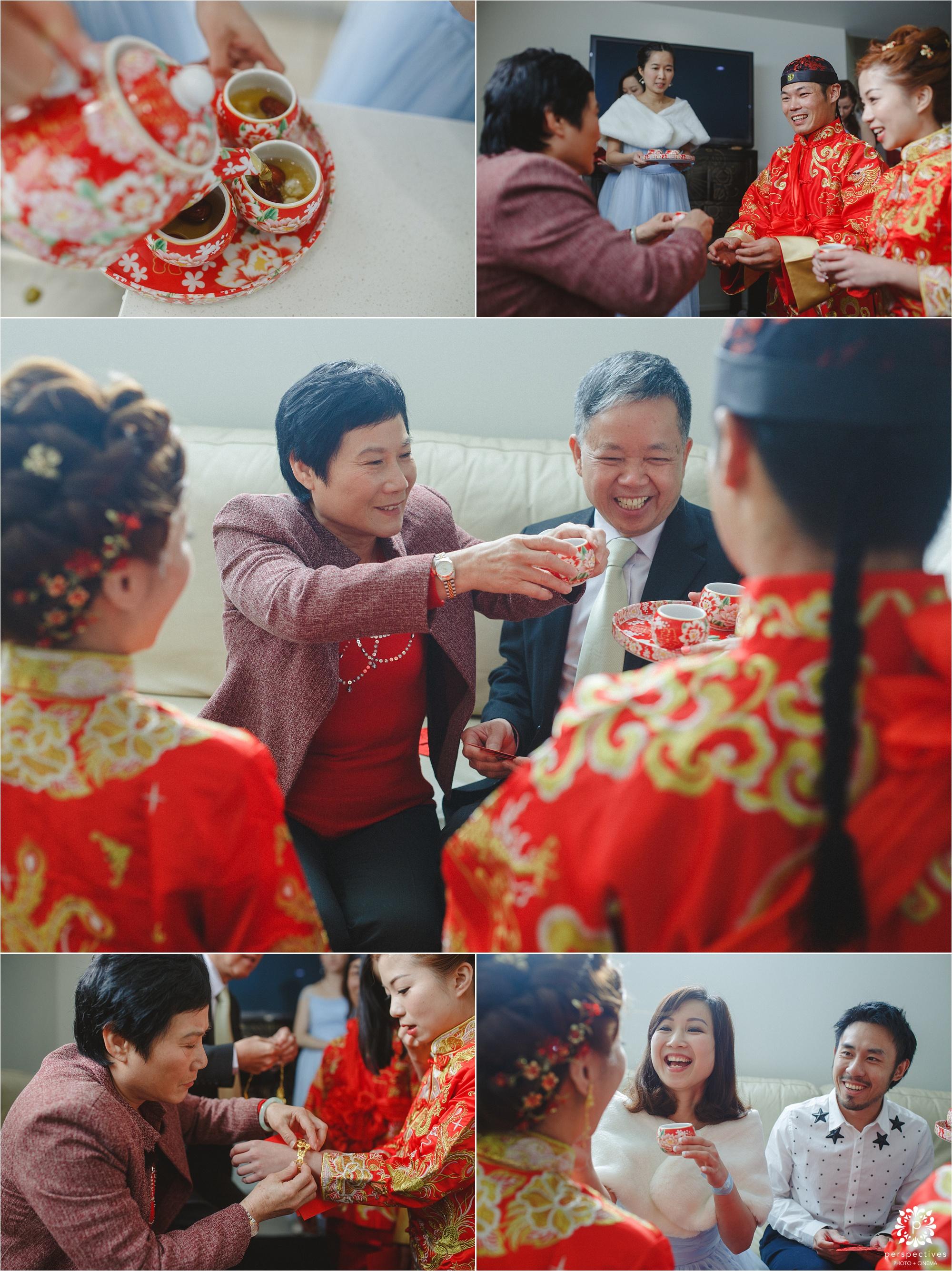 Chinese wedding tea ceremony Auckland