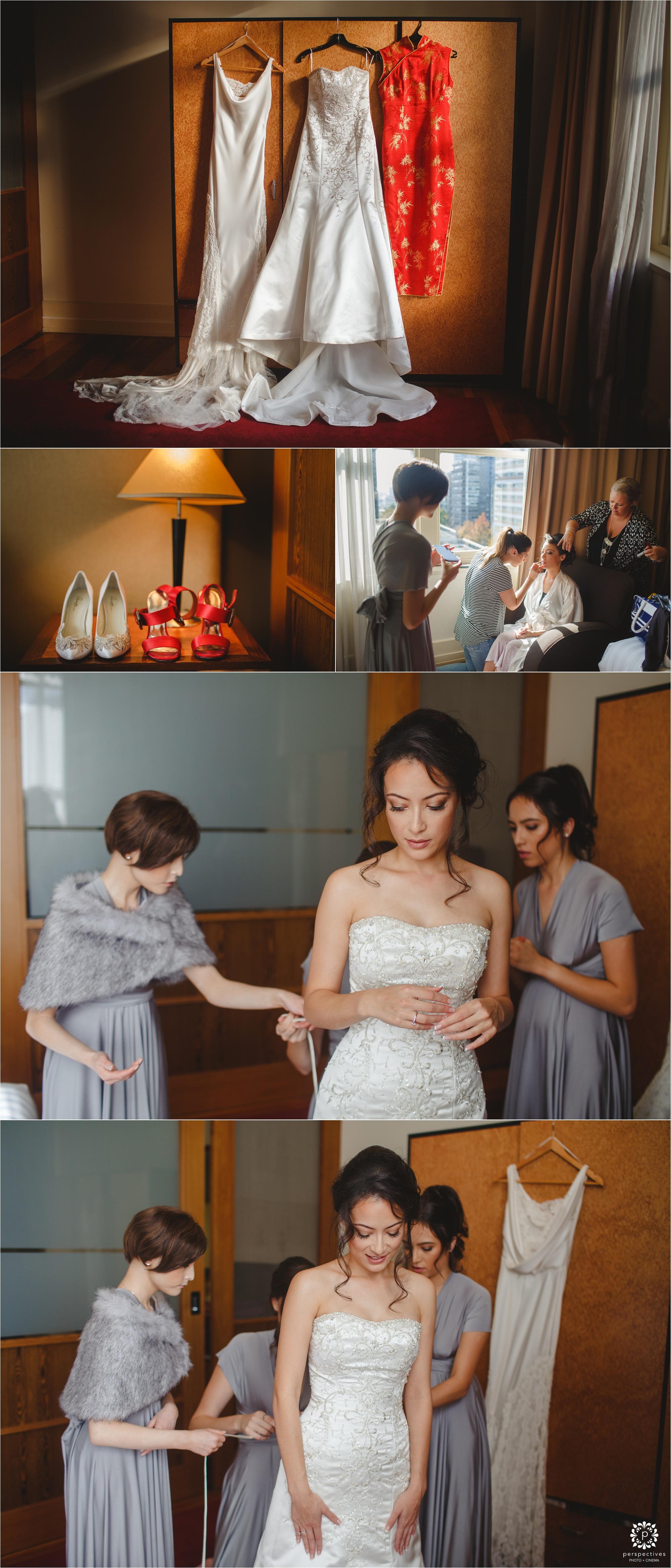 heritage auckland wedding photos