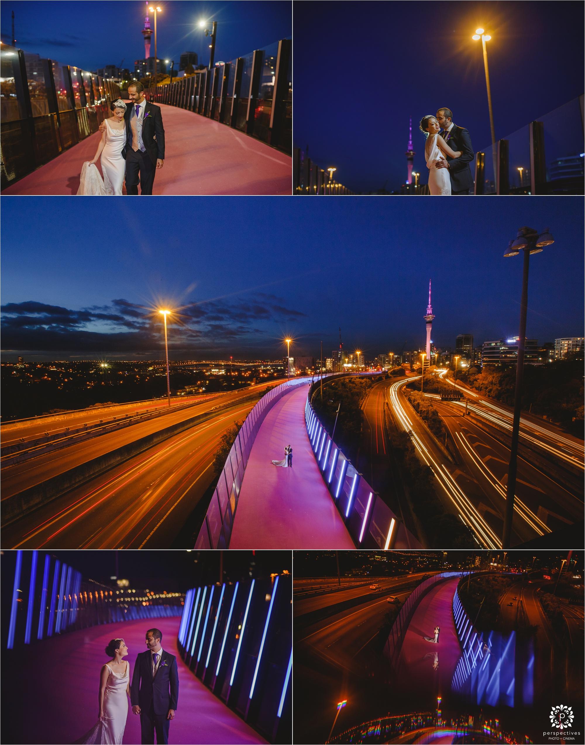 auckland urban wedding photos