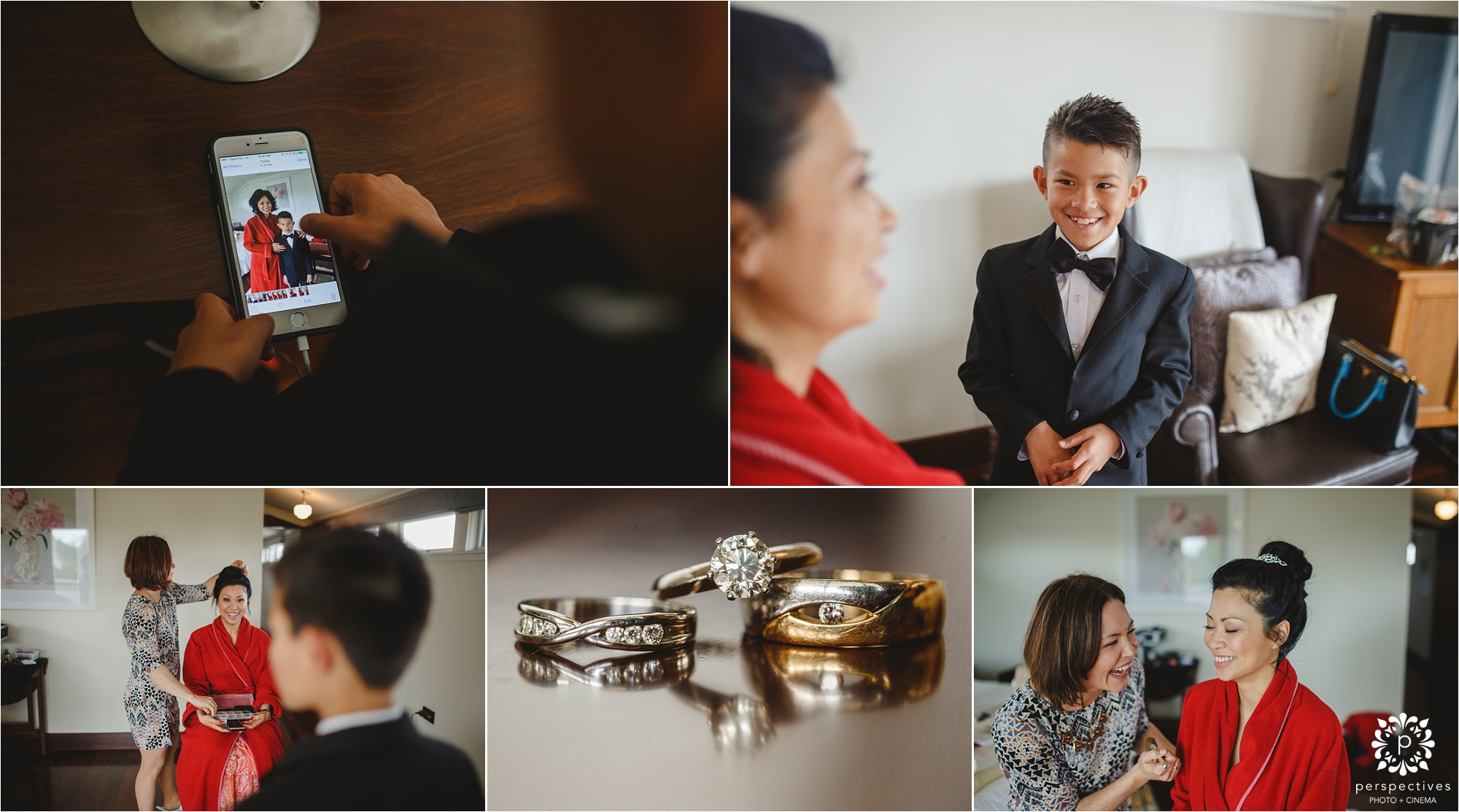 The Langham Auckland wedding photos