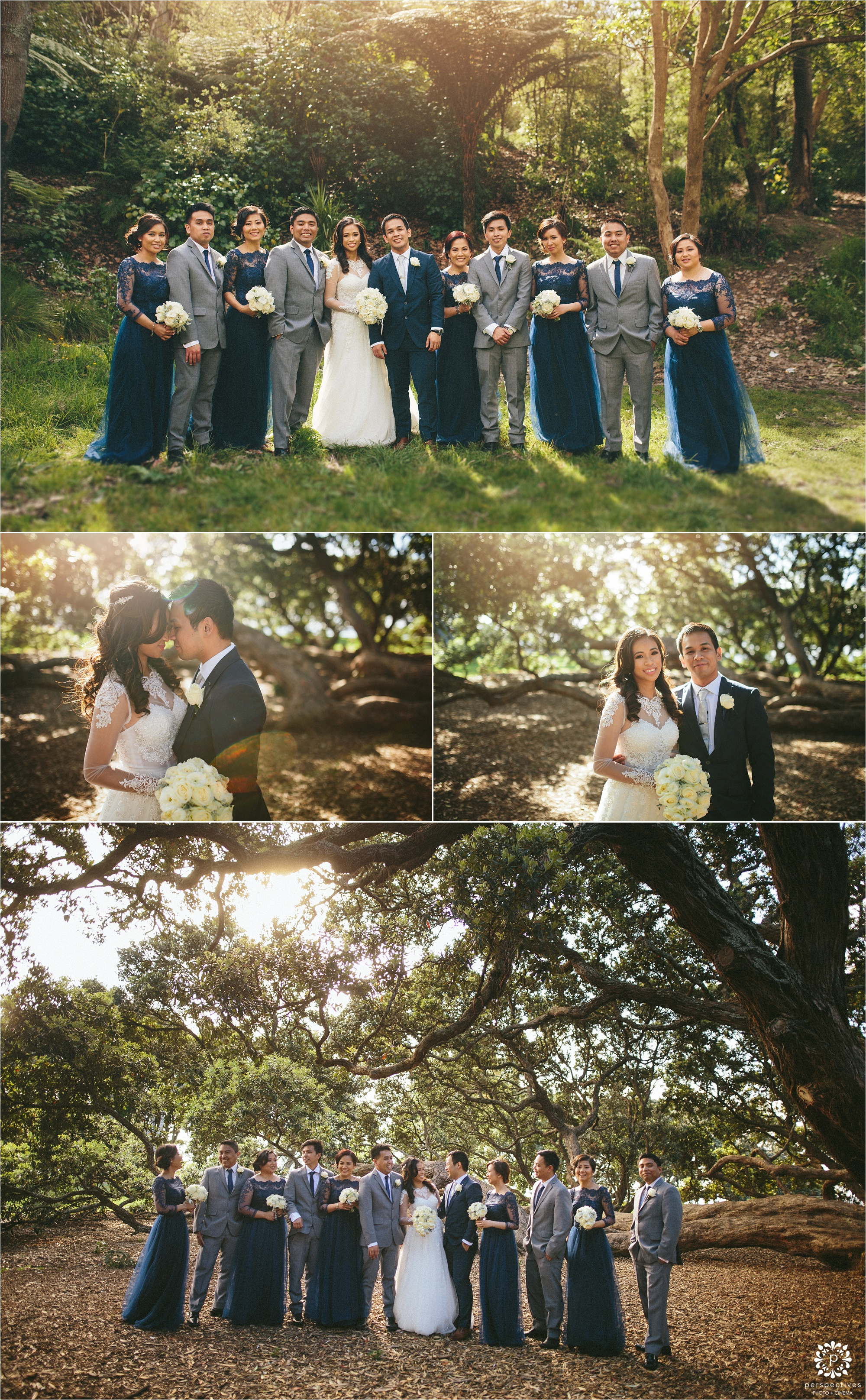Auckland wedding forest photos