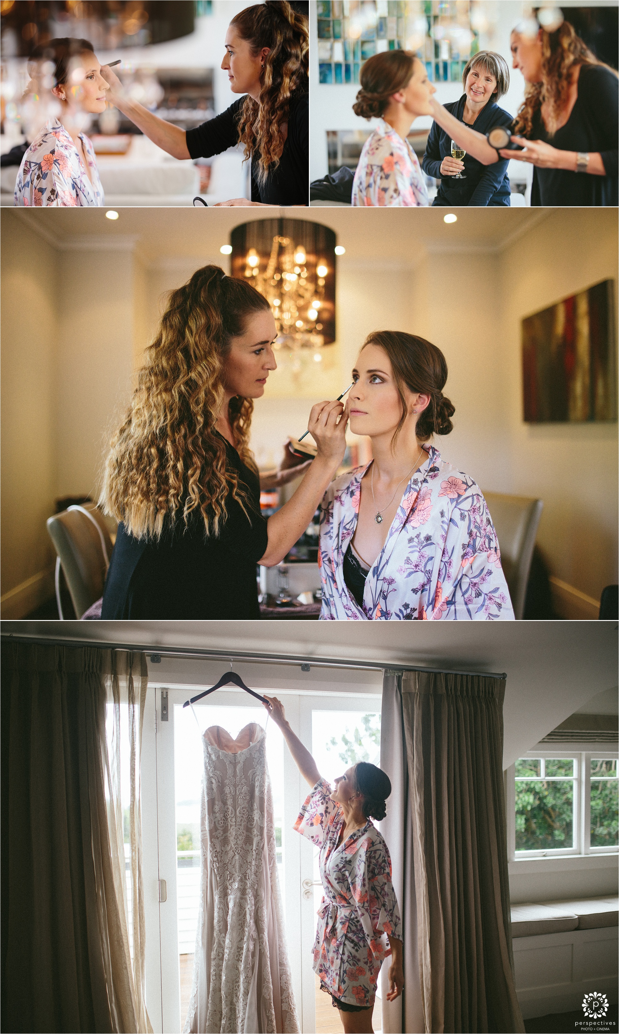 Auckland wedding makeup artist