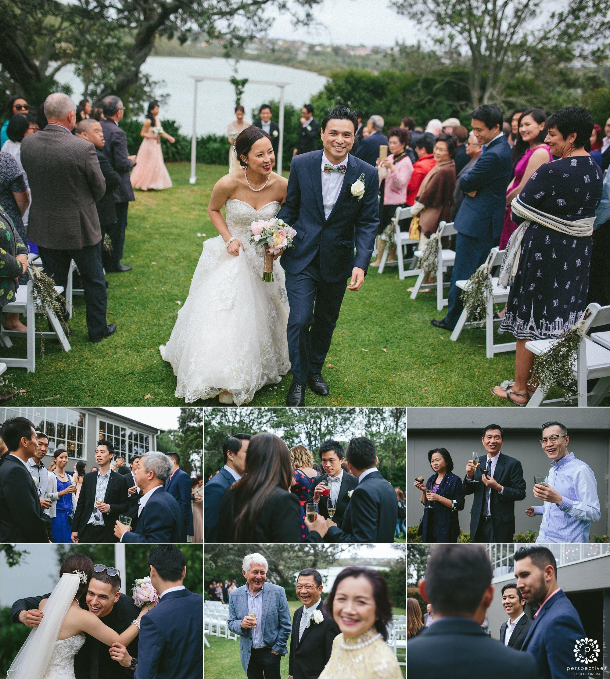 Orakei Bay wedding photos Auckland